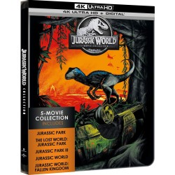 JURASSIC WORLD - 5 MOVIES COLLECTION