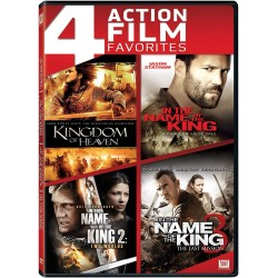 4 FILM ACTION - NAME OF THE KING 1 2 3 / KINGDOM