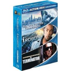ACTION HERO COLLECTION - THE DAY AFTER TOMORROW / I ROBOT / THE TERMINATOR