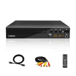 REPRODUCTOR DVD LONPOO - MULTIZONA CONEXION HDMI