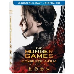 THE HUNGER GAMES - COMPLETE 4 FILMS COLLECTION