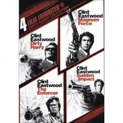 CLINT EASTWOOD - 4 FILMS FAVORITES - DIRTY HARRY / MAGNUM FORCE / THE ENFORCE / SUDDEN IMPACT