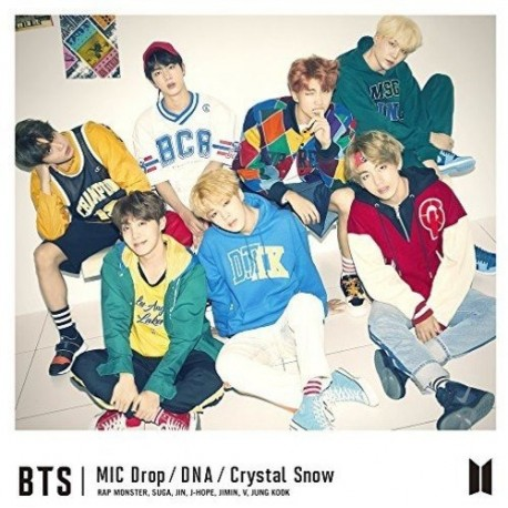 BTS MIC DROP DNA CRYSTAL SNOW TYPE C