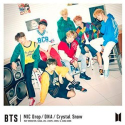 BTS - MIC DROP DNA CRYSTAL SNOW: TYPE A