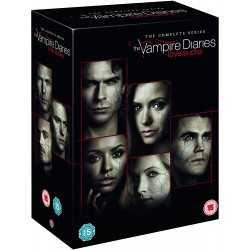 THE VAMPIRE DIARIES - THE COMPLETE SERIES