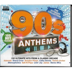 90S ANTHEMS - THE ULTIMATE COLLECTION - 100 HIT TRACKS
