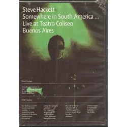 STEVE HACKETT - SOMEWHERE IN SOUTH AMERICA LIVE AT TEATRO COLISEO BUENOS AIRES