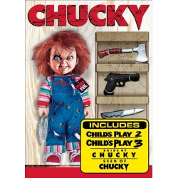 CHUCKY - 4 MOVIES COLLECTION