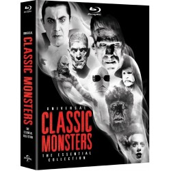 UNIVERSAL CLASSIC MONSTERS - THE ESSENTIAL COLLECTION