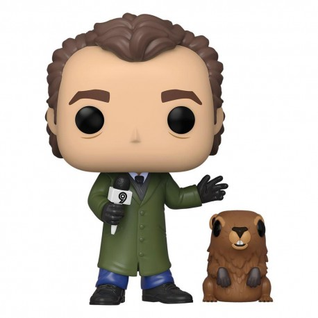 Pop! 1045: Groundhog Day / Phil Connors with Punxsutawney Phil