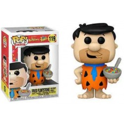 Pop! 119: The Flintstones / Fred Flintstones with fruity Pebbles