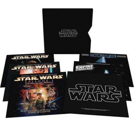 JOHN WILLIAMS - STAR WARS - THE ULTIMATE VINYL COLLECTION