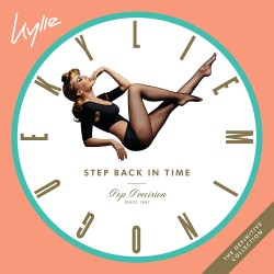 KYLIE MINOGUE - STEP BACK IN TIME - THE DEFINITIVE COLLECTION