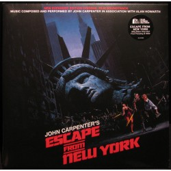 JOHN CARPENTER IN ASSOCIATION WITH ALAN HOWARTH - JOHN CARPENTERS ESCAPE FROM NEW YORK - SOUNDTRACK