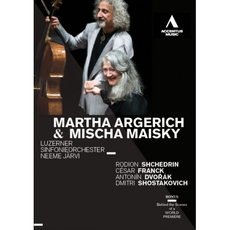MARTHA ARGERICH AND MISCHA MAISKY
