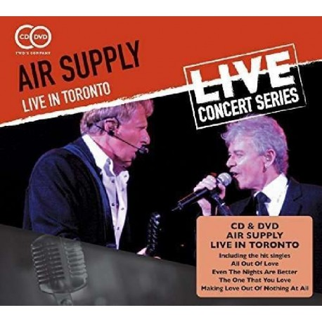 AIR SUPPLY - LIVE IN TORONTO