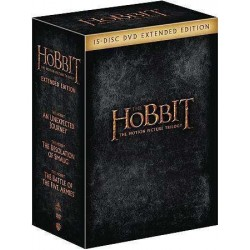 THE HOBBIT - THE MOTION PICTURE TRILOGY - EXTENDED EDITION