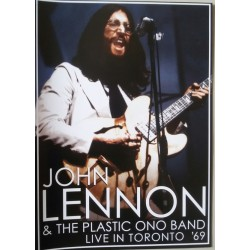 JOHN LENNON AND THE PLASTIC ONO BAND - LIVE IN TORONTO 69