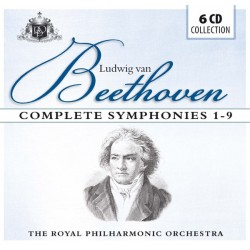 LUDWIG VAN BEETHOVEN -THE ROYAL PHILHARMONIC ORCHESTRA - COMPLETE SYMPHONIES 1-9 - 1770-1827