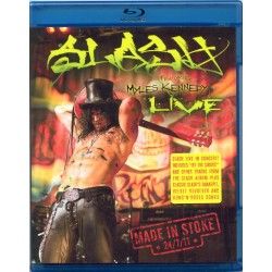 SLASH FEATURING MYLES KENNEDY - LIVE MADE IN STOKE
