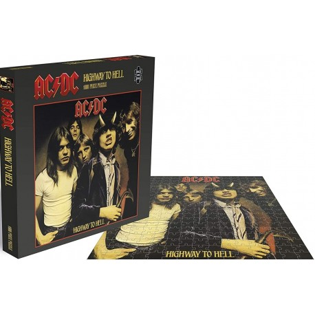 AC/DC - HIGHWAY TO HELL - 1000 PIECE PUZZLE