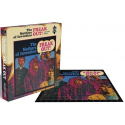 FRANK ZAPPA - THE MOTHERS OF INVENTION FREAK OUT - 1000 PIECE PUZZLE