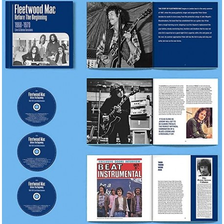 FLEETWOOD MAC - BEFORE THE BEGINNING 1968-1970 - LIVE AND DEMO SESSIONS