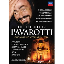 THE TRIBUTE TO PAVAROTTI - ONE AMAZING WEEKEND IN PETRA