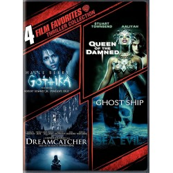 THRILLER COLLECTION 4 FILM - GOTHIKA / QUEEN OF THE DAMNED / DREAMCATCHER / SEA EVIL