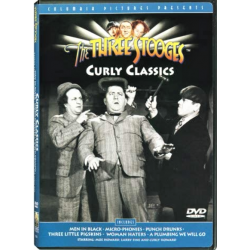 THE THREE STOOGES - CURLY CLASSICS