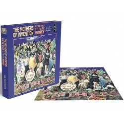 FRANK ZAPPA - THE MOTHERS OF INVENTION - WERE ONLY IN IT FOR THE MONEY - 1000 PIECE PUZZLE 1.000 PC