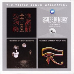 THE SISTERS OF MERCY - THE TRIPLE ALBUM COLLECTION