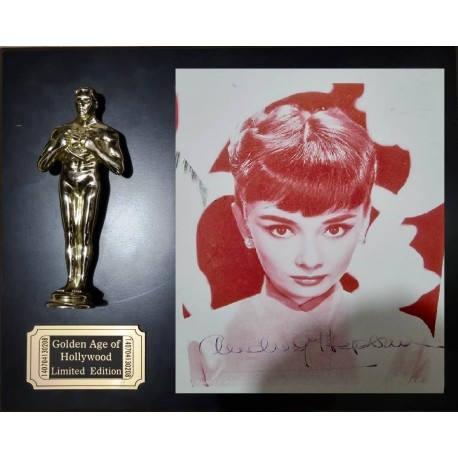 AUDREY HEPBURN - GOLDEN AGE OF HOLLYWOOD - LIMITED EDITION