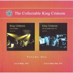 KING CRIMSON - LIVE IN MAINZ / LIVE IN ASBURY PARK