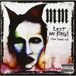 MARILYN MANSON - LETS WE FORGET - THE BEST OF