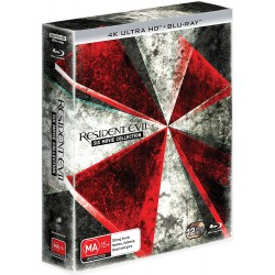 RESIDENT EVIL - SIX MOVIE COLLECTION