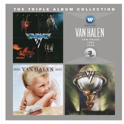 VAN HALEN - TRIPLE ALBUM COLLECTON