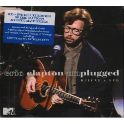 ERIC CLAPTON - UNPLUGGED, 2CD + 1 DVD