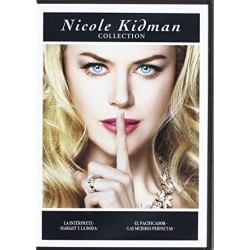 NICOLE KIDMAN - COLLECTION: LA INTERPRETE / MARGOT Y LA BODA / EL PACIFICADOR / LAS MUJERES PERFECTAS