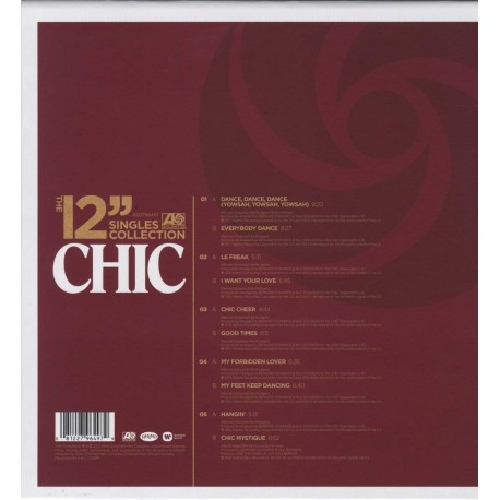 """CHIC 12"""" SINGLES COLLECTION"""
