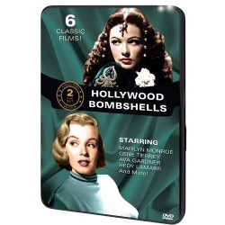 6 CLASSIC FILMS - HOLLYWOOD BOMBSHELLS: HOMETOWN STORY / SUNDOWN / OUTPOST IN MOROCCO / WHITLE STOP / ALGIERS / DISHONRED LADY