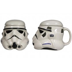 STORMTROOPER HELMET DESIGN - STAR WARS - SCULPTED MUG