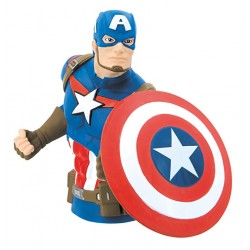 CAPITAN AMERICA - MARVEL - BUST BANK