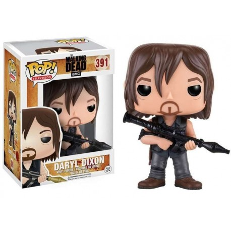 Pop! 391: The Walking Dead / Daryl with Rocket Launcher