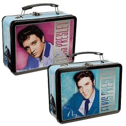 ELVIS PRESLEY - THE KING OF ROCK N' ROLL - LUNCH BOX