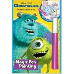 MONSTERS INC - MAGIC PEN PAINTING