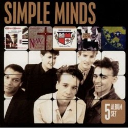 SIMPLE MINDS - 5 ALBUM SET
