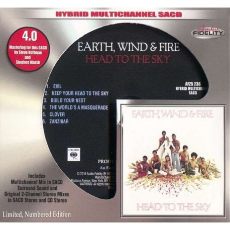 EARTH WIND & FIRE - HEAD TO SKY