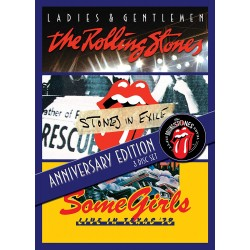 THE ROLLING STONES - LADIES AND GENTLEMEN / STONES IN EXILE / SOME GIRLS - LIVE IN TEXAS 78